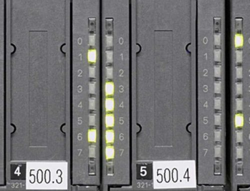 Save data and function blocks of a PLC automatically