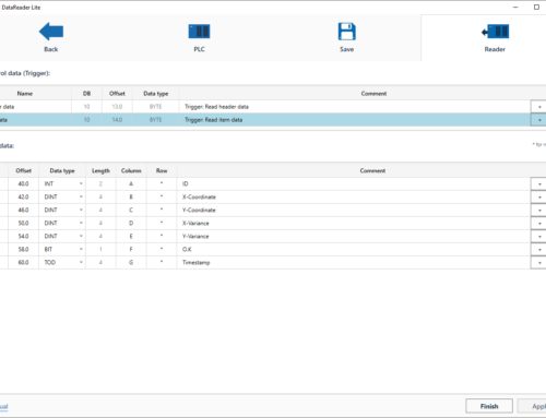 Write CSV files with the S7: Our new DataReader Lite